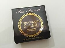 Too Faced Chocolate Soleil Medium/deep Matte Bronzer 0.08oz