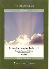 Teaching Company Great Courses Introduction To Judaism DVD Sealed