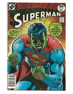 Superman #317 (1977) Neal Adams High Grade VF 8.0
