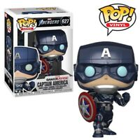 Captain America Marvel Avengers Game Official Funko Pop Vinyl Figure Collectable