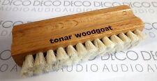 Tonar Woodgoat Wet Record Cleaning Brush, Goat Hair bristles. Inc 1st Post. DECO