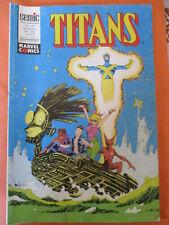 TITANS N)° 148 mai 1991   Excalibur Les nouveaux mutants Les vengeurs