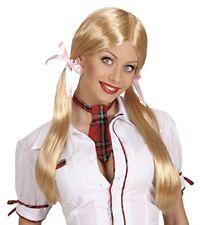 Perruque D'écolière blonde Femme Cod.39361