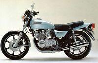 KAWASAKI 650Z KZ650C 1978-1979   REAR STAINLESS BRAIDED BRAKE KIT KX KZ