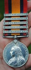 QSA Queens south africa medal to Leinster regt