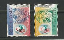 MALAYSIA 1998 RED CRESCENT SOCIETY SG,683-684 U/M N/H LOT 1653A