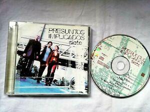 Allégué Impliqués Sept Cds 1997 Warne Music Espagne Occasion