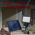 Waterproof 60 LED Outdoors Solar Motion Activated Flood Light Security IP65 Set