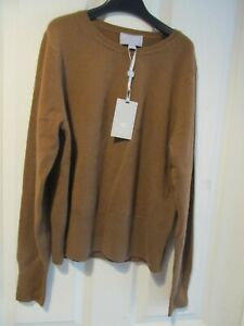 Pure Collection 100% cashmere cropped jumper size 12