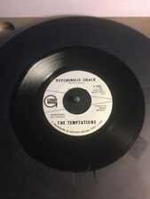 The Temptations Psychedelic Shack Rare 2 Sided Promotional Gordy 45 Record Mint