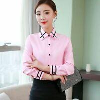 Floral Tops Korean T-Shirt Blouse Elegant Office T-shirts Shirts Summer Loose