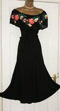 PER UNA Ladies off the shoulder bardot Summer midi Dress Size 20 NEW