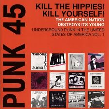 Punk 45: Kill The Hippies! Kill Yourself!-2LP-2013 Soul Jazz Records-SJR LP272