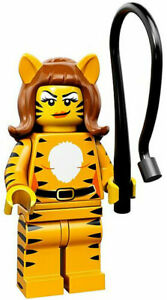 LEGO- Series 14 Monsters - #9 TIGER WOMAN - Collectible Minifigures - Zombie Fly