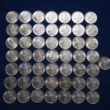 1878-1904 Morgan Silver Dollars AU-BU Pre-1921 Mix Dates Lot of 50 Coins