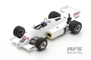 Arrows A6 Ford Cosworth Chico Serra Formel 1 Brasilien 1983 1:43 Spark 5779 NEU