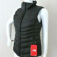 THE NORTH FACE WOMEN'S ACONCAGUA II 550 Down Vest Black/Multi Glitch Print M, XL
