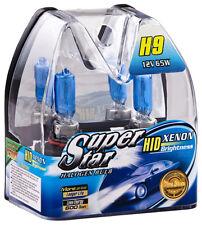 H9 Xenon Optik Halogen Lampen 8500K XXL Super White Birnen