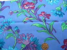 Fat Quarter Kaffe Fassett Anne Marie Blue - Rowan Cotton Quilting Fabrics
