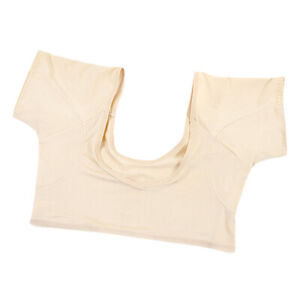 Soft Washable Comfortable Sweat Proof Undershirt with Underarm Sweat Pads