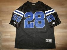 Marshall Faulk #28 Indianapolis Colts NFL black edition starter Jersey 2XL 2X