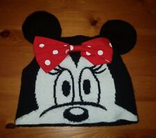 Minnie Mouse Girls Hat with Bow for 3-6 years