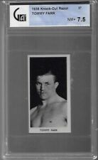 1938 KNOCK OUT RAZOR # 37 TOMMY FARR NM+ 7.5 FAMOUS PRIZE FIGHTERS