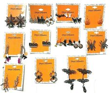 Wholesale Lot 100 Packs Halloween Costume Jewelry Earrings Sets FREE SHIPPING