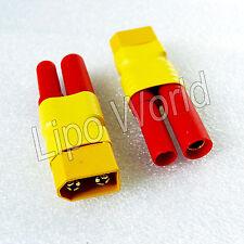 XT60 Stecker auf 4mm HXT Buchse Hochvoltstecker Adapter Lade Kabel LiPo Akku