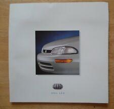 GEO Range 1994 USA Market large format sales brochure - Prizm Metro Tracker