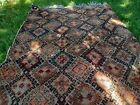 Vintage, handwoven, thick pile, authentic, family owned & made, Moroccan carpet