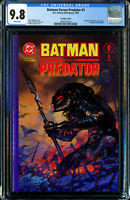 BATMAN VERSUS PREDATOR #1 PRESTIGE FORMAT (D.C.−DARK HORSE 1991) CGC 9.8 NM/MT