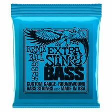 Ernie Ball Extra Slinky Nickel Wound Electric Bass Guitar Strings Gauge 40-95