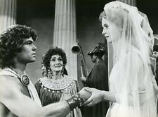 HARRY HAMLIN JUDI BOWKER CLASH OF THE TITANS 1981 VINTAGE PHOTO ORIGINAL #3