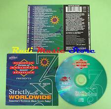 CD STRICTLY WORLDWIDE X 3 compilation 1994 RE NILU SIERRA MAESTRA LEILA (C28)