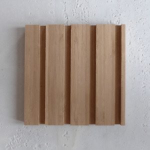 38mm Width Easyfit Bamboo Profiled Panel (SAMPLE - 200 x 200 mm)