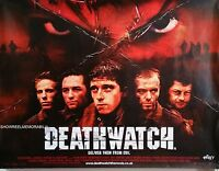 CINEMA POSTER DEATHWATCH 2002 - Jamie Bell  horror movie quad poster '30 x 40 ''