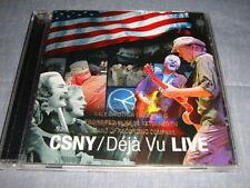 CSN&Y Deja Vu Live promo cd Neil Young