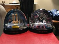 NYC SNOW GLOBES - BOTH PRE AND POST 9/11 - WTC - WORLD TRADE CENTER