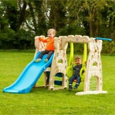 Play Centre Scramble 'N slide area Kid Toddler Outdoor Garden Toy Child Swing