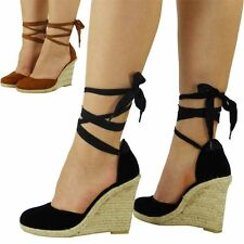 Women's Faux Suede Platforms, Wedges Casual Shoes