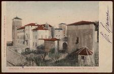 cartolina VERCELLI castello abitato nel 1400 dai duchi di savoia