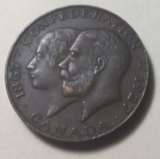CANADA 1867-1927 DIAMOND JUBILEE OF CONFEDERATION MEDAL