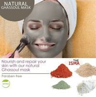THEISMA Clay Face Mask 100% Natural Minerals, Paraben Free 200g/100g