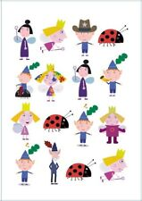 1x Ben And Holly Party Supplies Temporary TATTOO Sheet. Lolly Loot Bag Cake Game