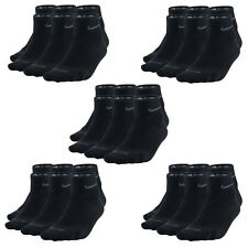 15 Paar NIKE Dri-FIT NoShow Sneaker Socken schwarz 34-38 (S) 15er Pack Low Cut