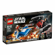 "LEGO 75196 STAR WARS ""A-WING VS TIE SILENCER"" MICROFIGHTERS"