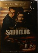Alfred Hitchcock's SABOTEUR (1942) w/Slipcase Robert Cummings Otto Kruger SEALED