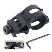 WR_ 360 Degree Cycling Bicycle Mount Holder for LED Flashlight Torch Clamp FADDI
