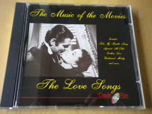 The Starlight Orchestra & SingersThe music of the movies. The love songsCDpop